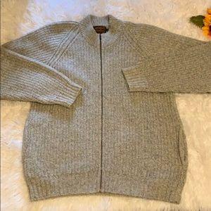 Eddie Bauer Cardigan Sweater Sz Large Tall